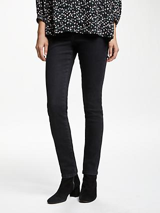 Collection WEEKEND by John Lewis Liza Skinny Twill Jeans, Black