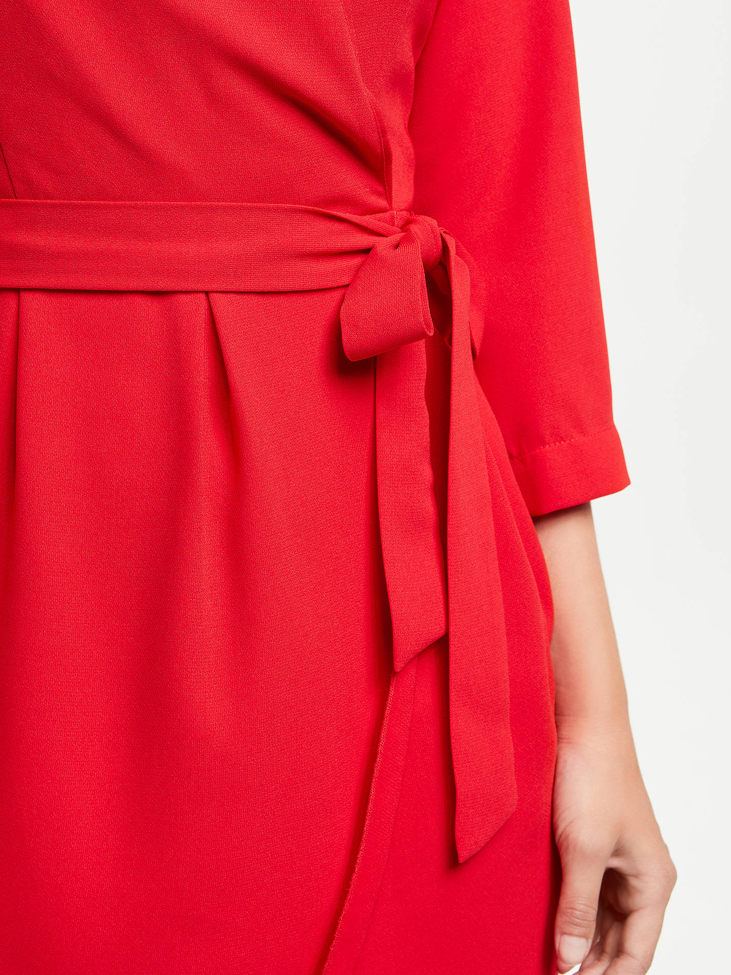 BuySUNCOO Candice Wrap Dress, Rouge, 12 Online at johnlewis.com