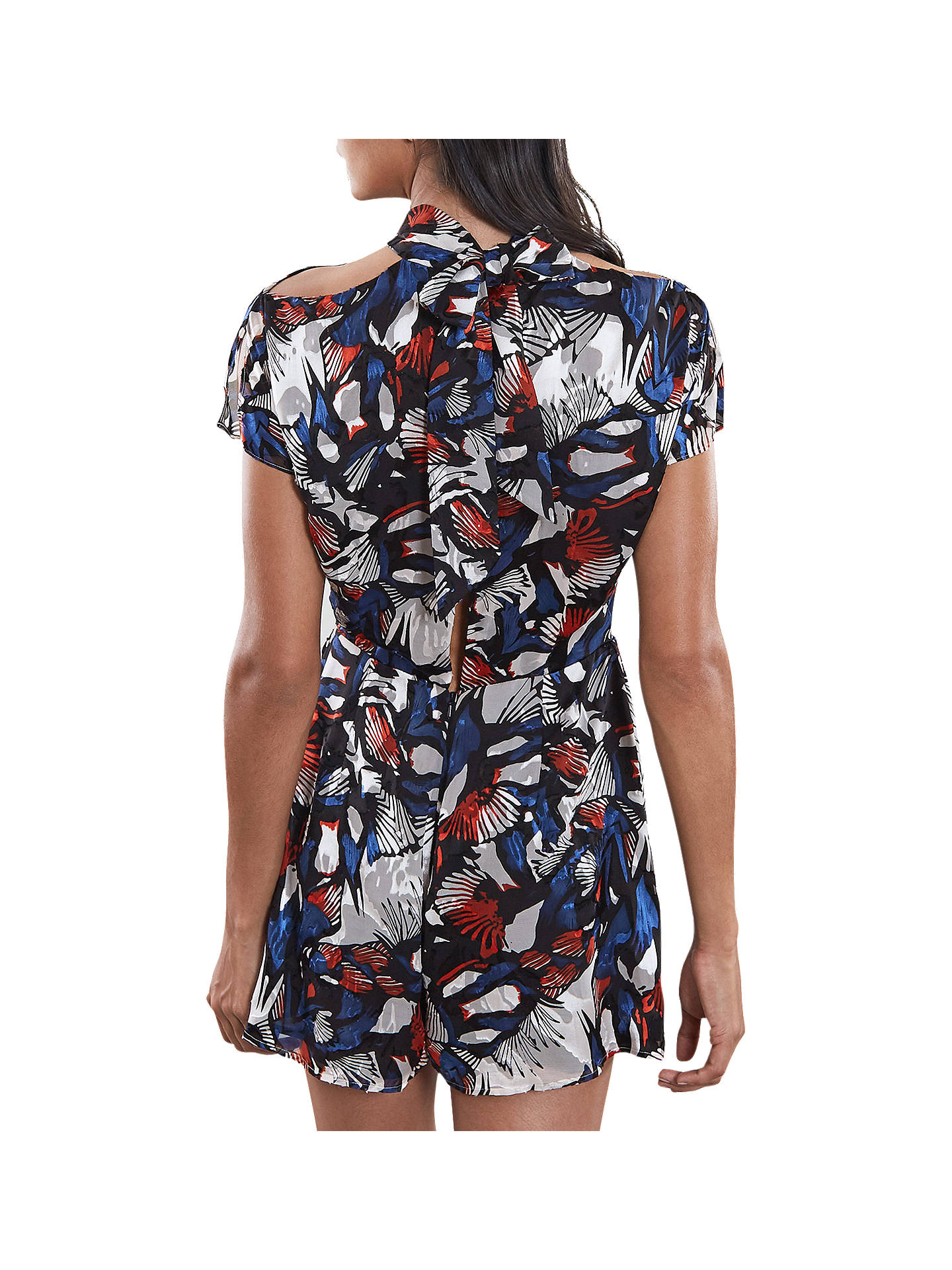 Buy Reiss Burnout Playsuit, Multi, 10 Online at johnlewis.com