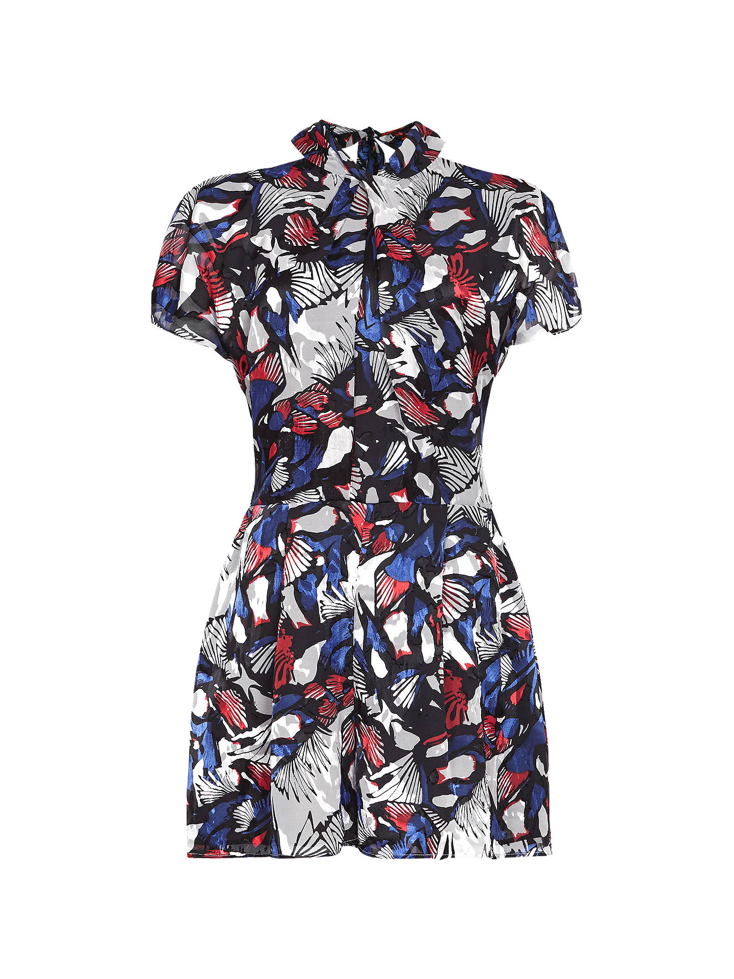 Buy Reiss Burnout Playsuit, Multi, 12 Online at johnlewis.com
