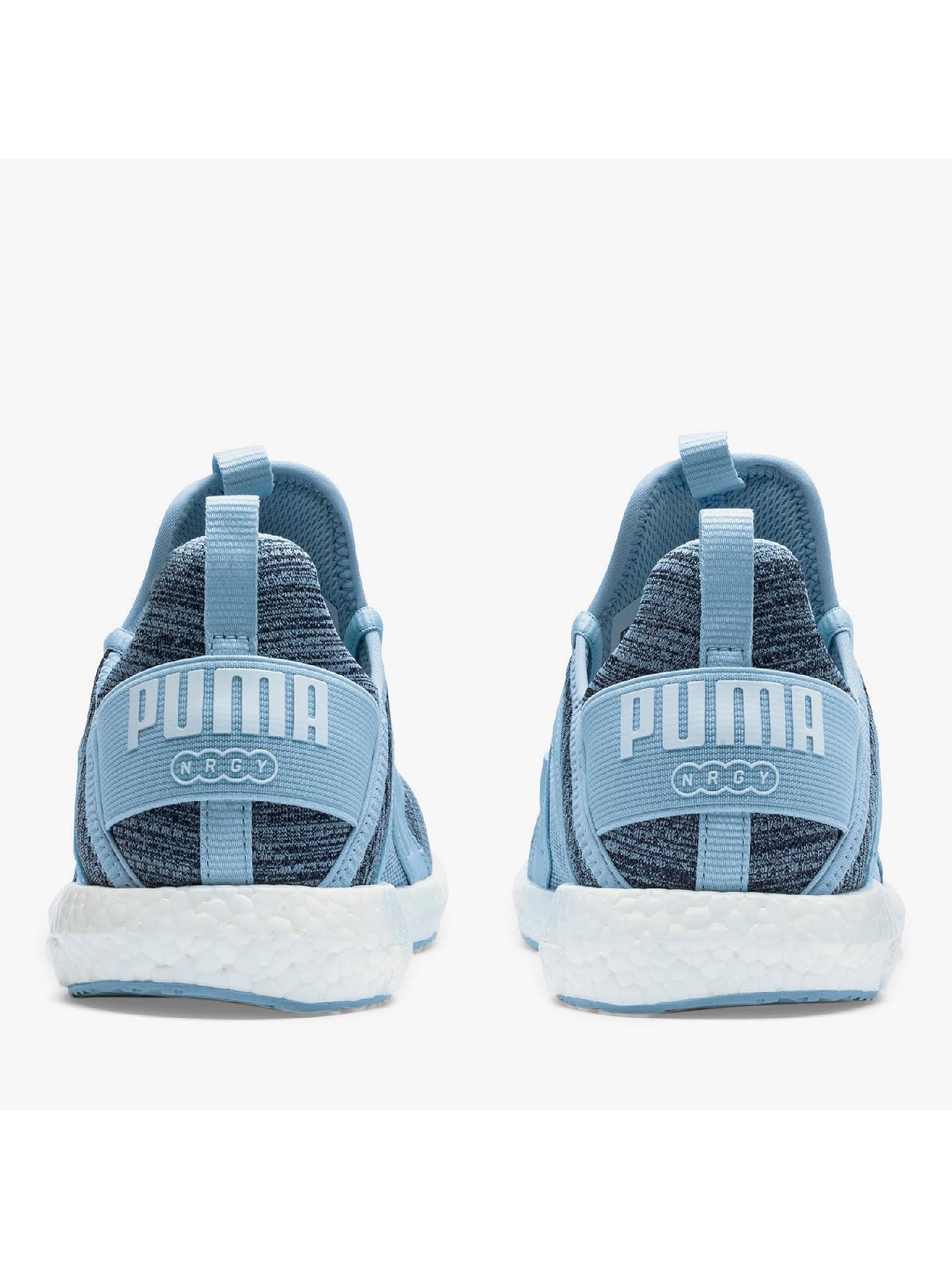 994e6211b PUMA Ignite Flash evoKNIT Women's Running Shoes, Cerulean/Quarry ...