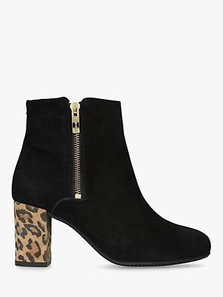 09db545375 Carvela Comfort Rail Side Zip Ankle Boots
