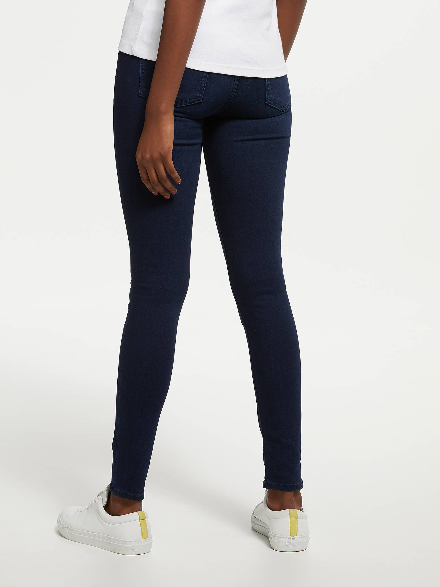 Buy7 For All Mankind Slim Illusion Luxe Jeans, Rich Indigo, 26 Online at johnlewis.com