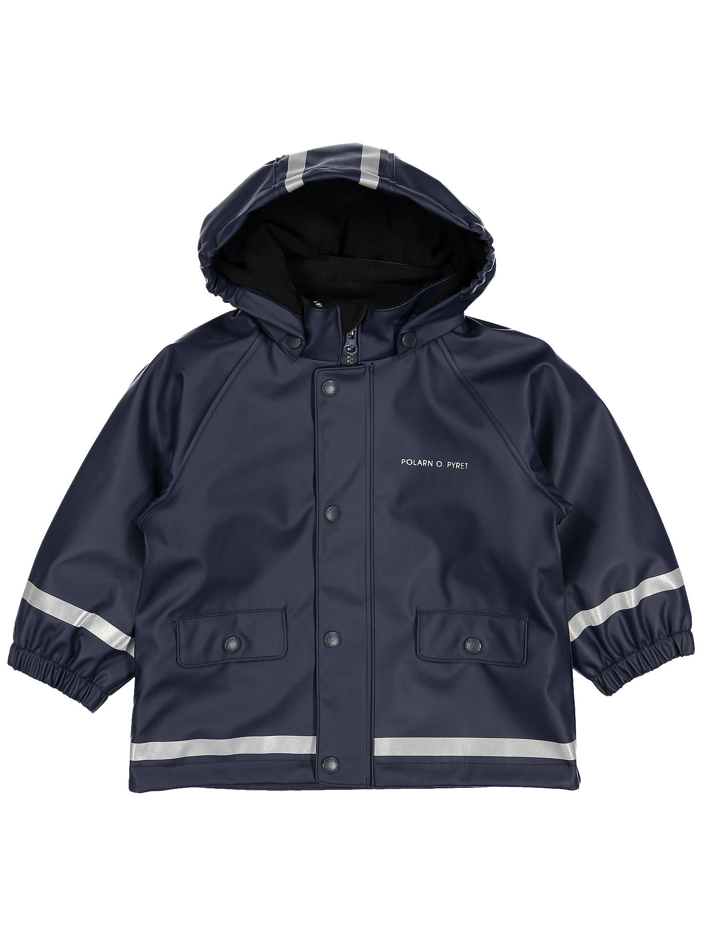 BuyPolarn O. Pyret Baby Raincoat, Blue, 12-24 months Online at johnlewis.com