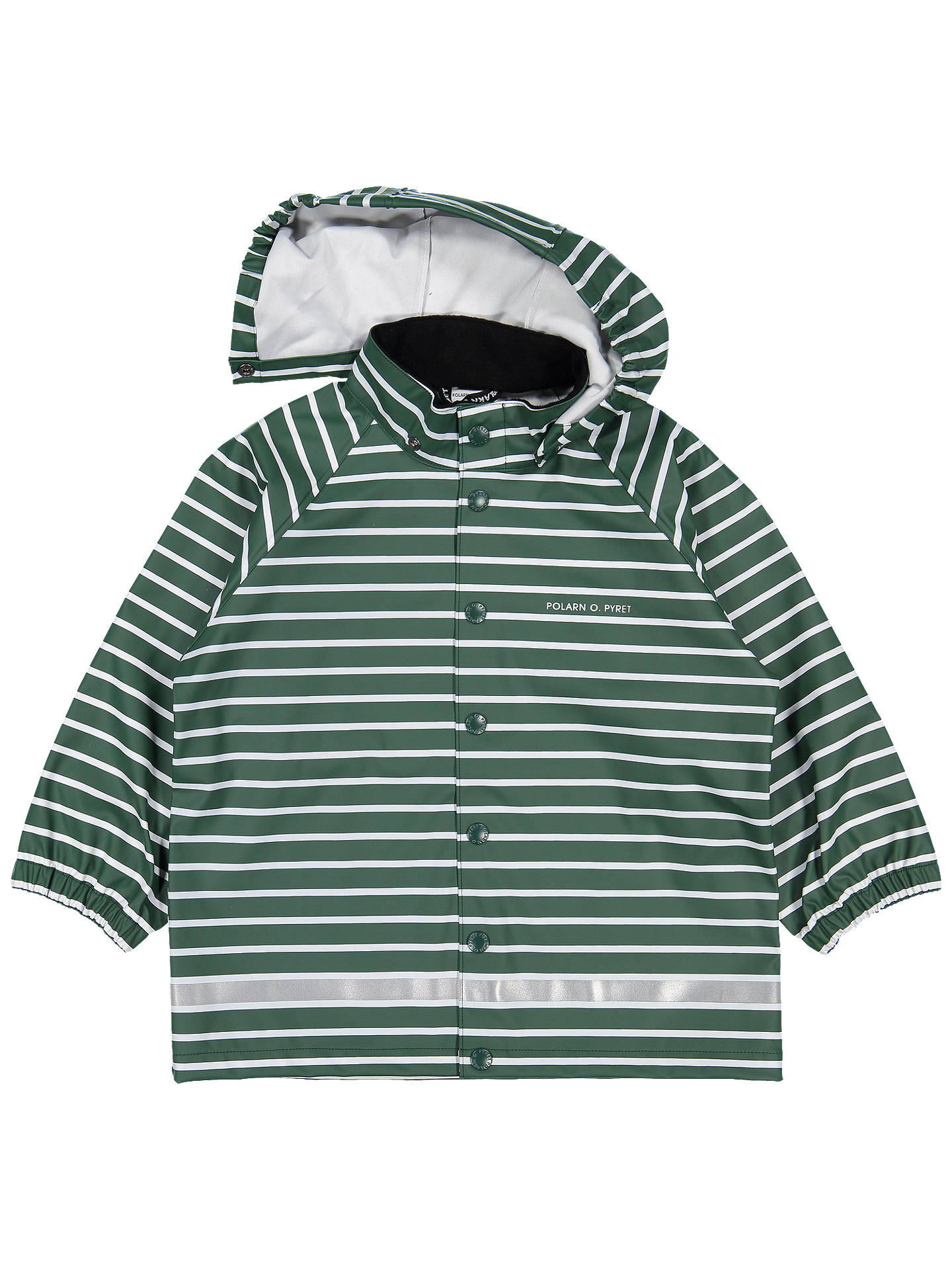 Buy Polarn O. Pyret Children's Raincoat, Green, 2-4 years Online at johnlewis.com