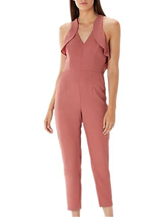 Coast Gabriella Frill Jumpsuit, Rose