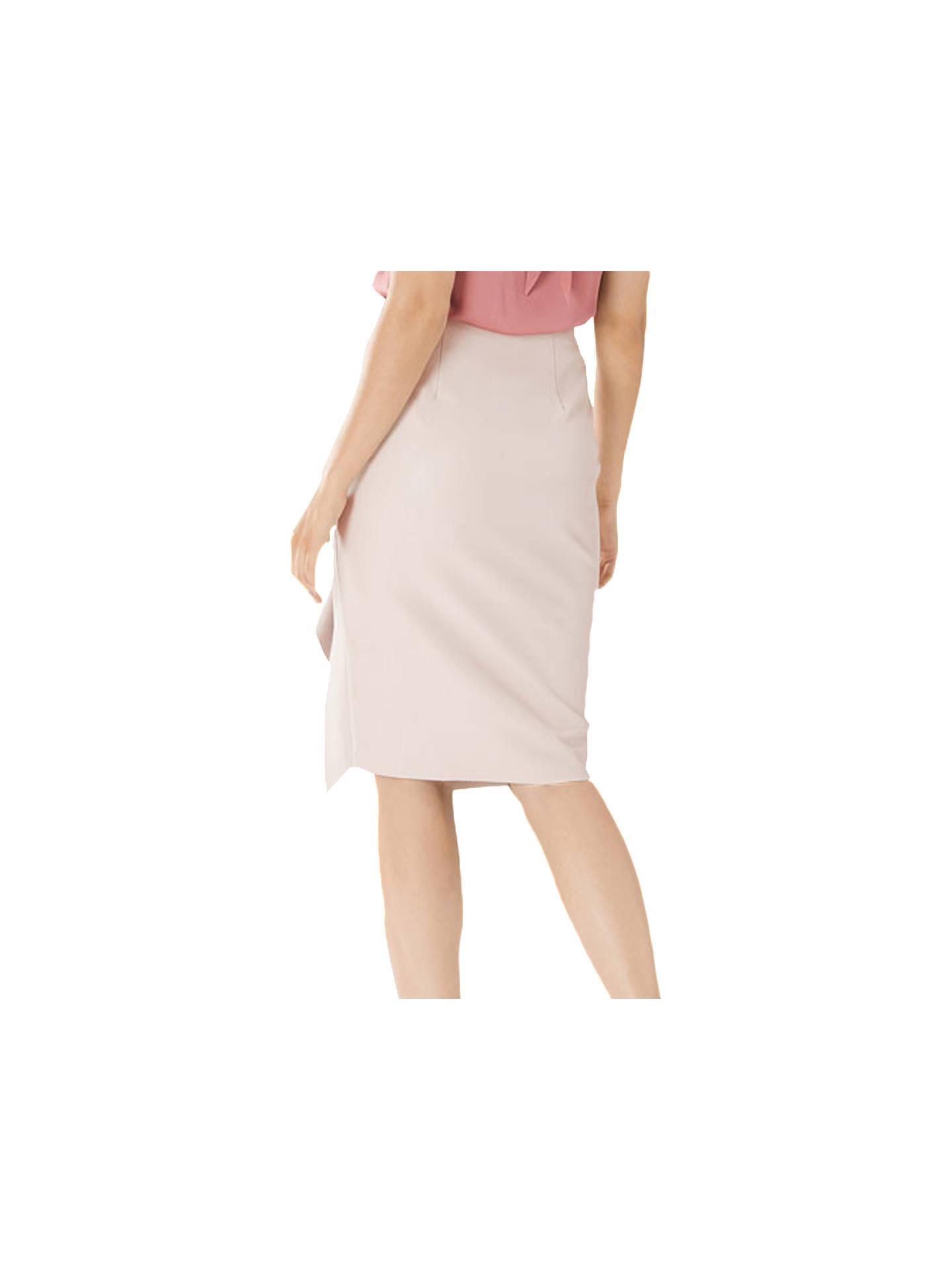 8cb01e4a38 ... Buy Coast Alexis PU Skirt, Blush, 6 Online at johnlewis.com ...