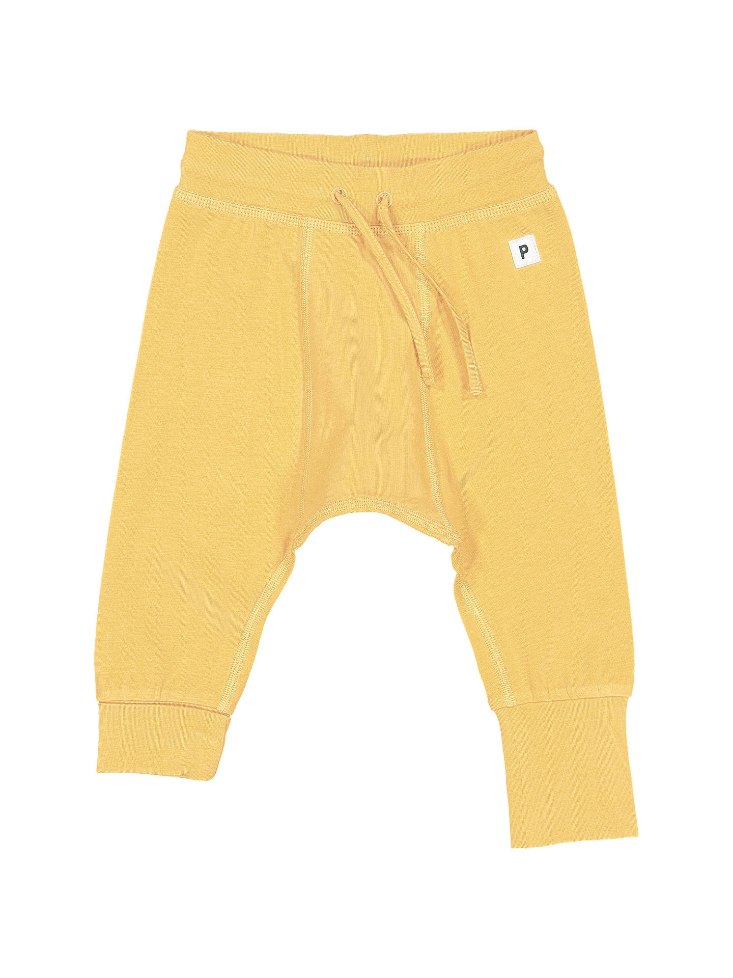BuyPolarn O. Pyret Baby Trousers, Yellow, 0-1 months Online at johnlewis.com