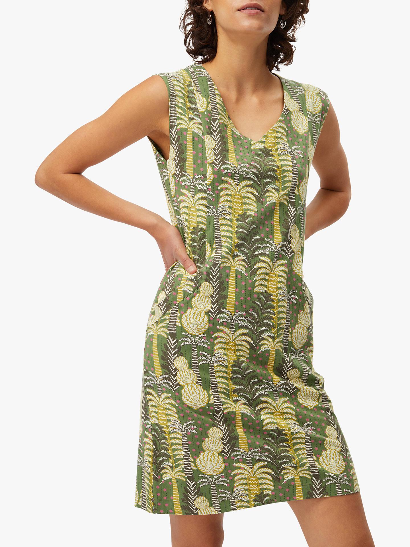 083306f0e8 Buy White Stuff Lena Cotton Dress, Green Multi, 6 Online at johnlewis.com  ...