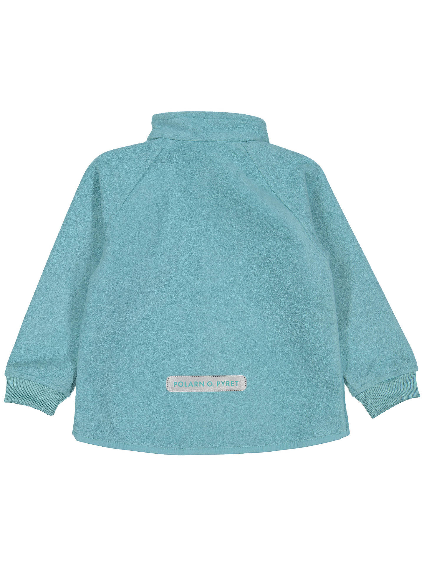 Buy Polarn O. Pyret Baby Waterproof Fleece Jacket, Green, 12-18 months Online at johnlewis.com