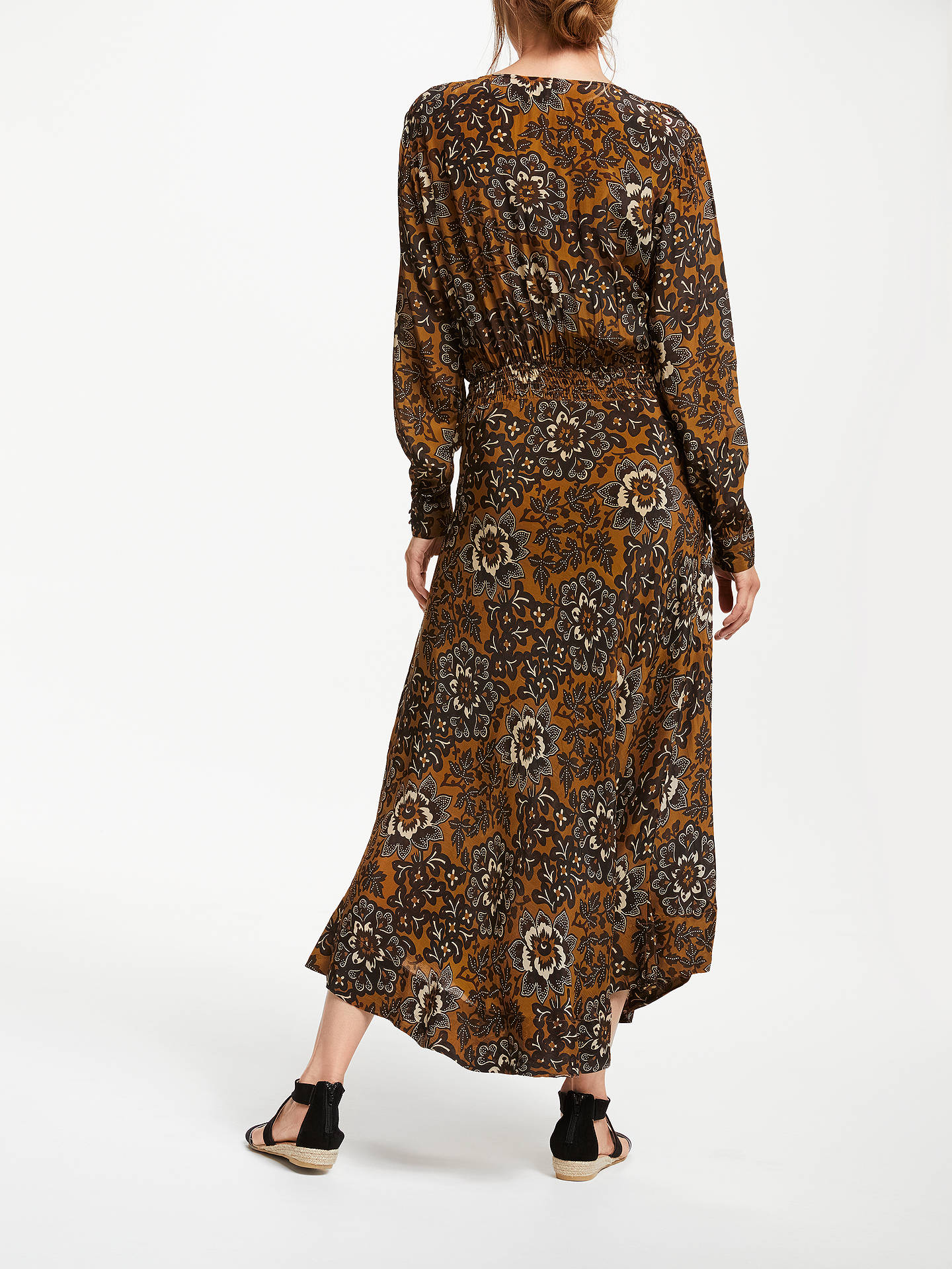 Buy Stella Forest Balinaise Print Maxi Dress, Hazelnut, 8 Online at johnlewis.com