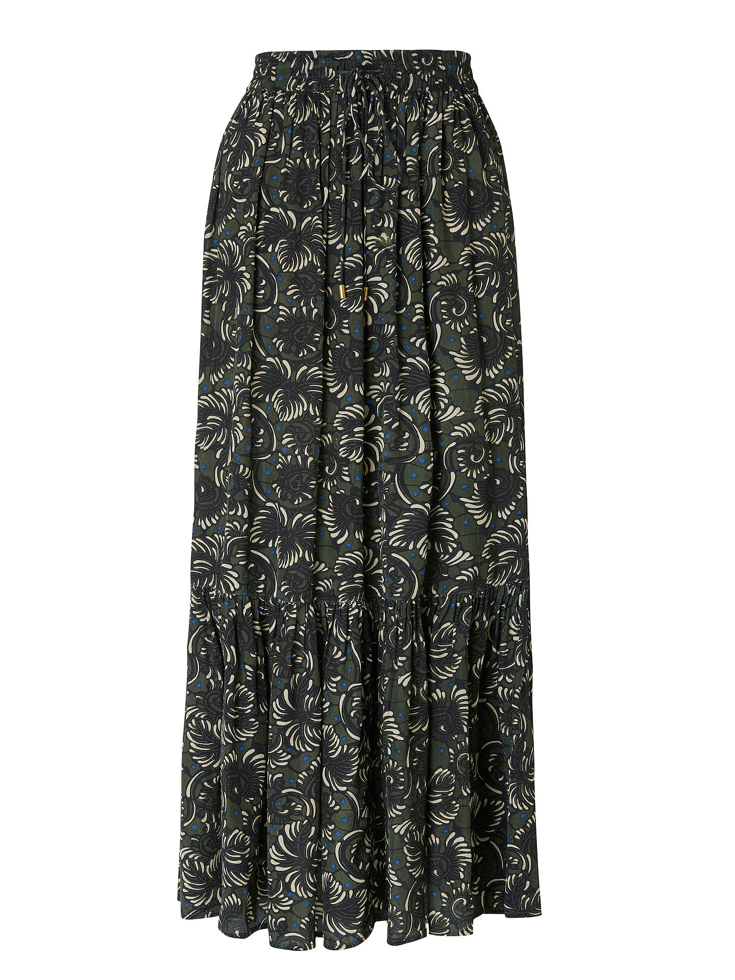 BuyStella Forest Elie Maxi Skirt, Forest, 16 Online at johnlewis.com