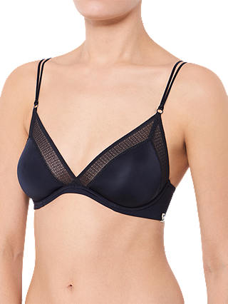 Buy S by sloggi Silhouette Wired Bra, Black, 34DD Online at johnlewis.com