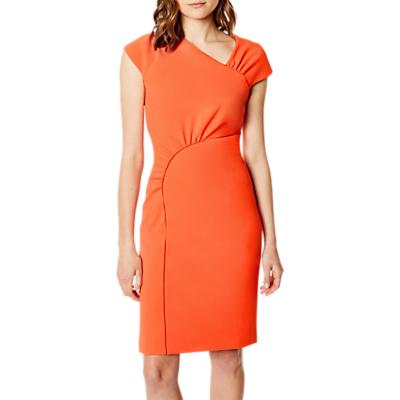 Karen Millen Gathered Dress, Orange