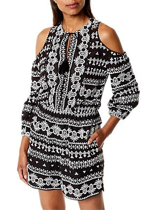 3bcc8d2893f8 Karen Millen Embroidered Playsuit