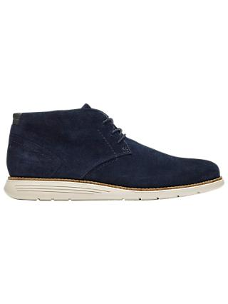 Rockport Total Motion C.F. Stead Suede Sports Chukka Boots, Navy