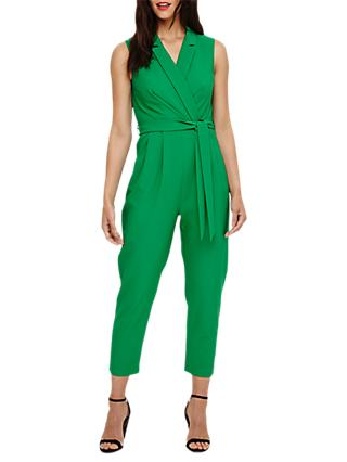 Phase Eight Felicia Wrap Jumpsuit, Jade