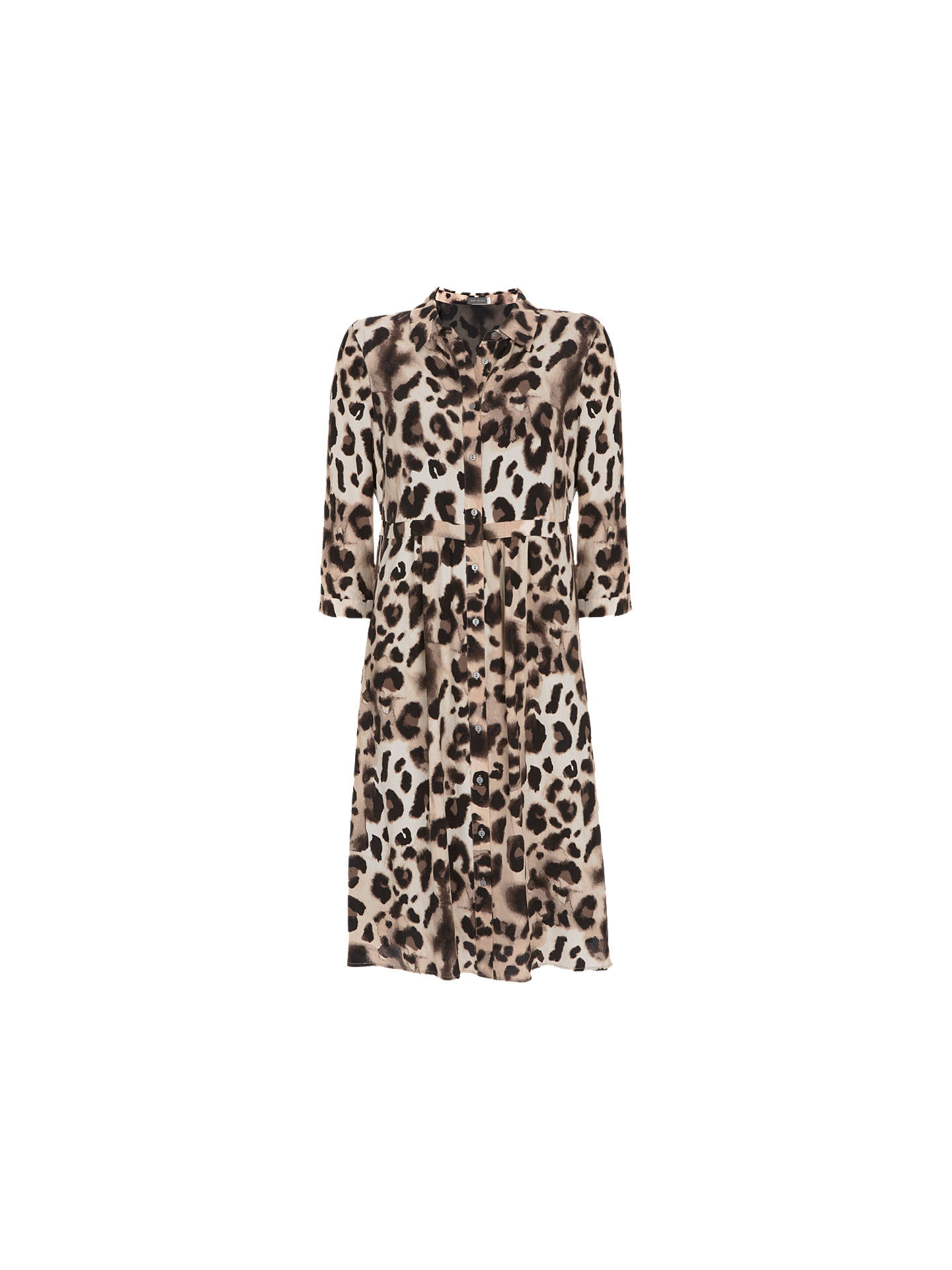 Buy Mint Velvet Audrey Print Shirt Dress, Multi, 12 Online at johnlewis.com