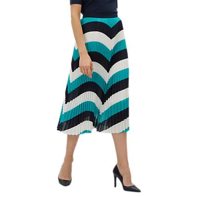 Jaeger Colour Block Skirt, Multi