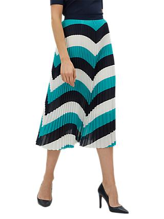 Jaeger Colour Block Skirt, Multi