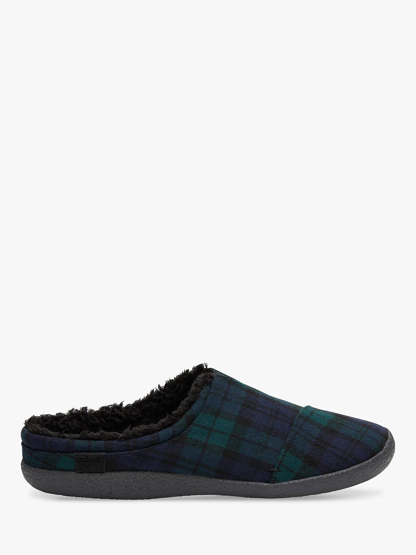 a826eb14a41 Buy TOMS Berkeley Plaid Felt Slippers