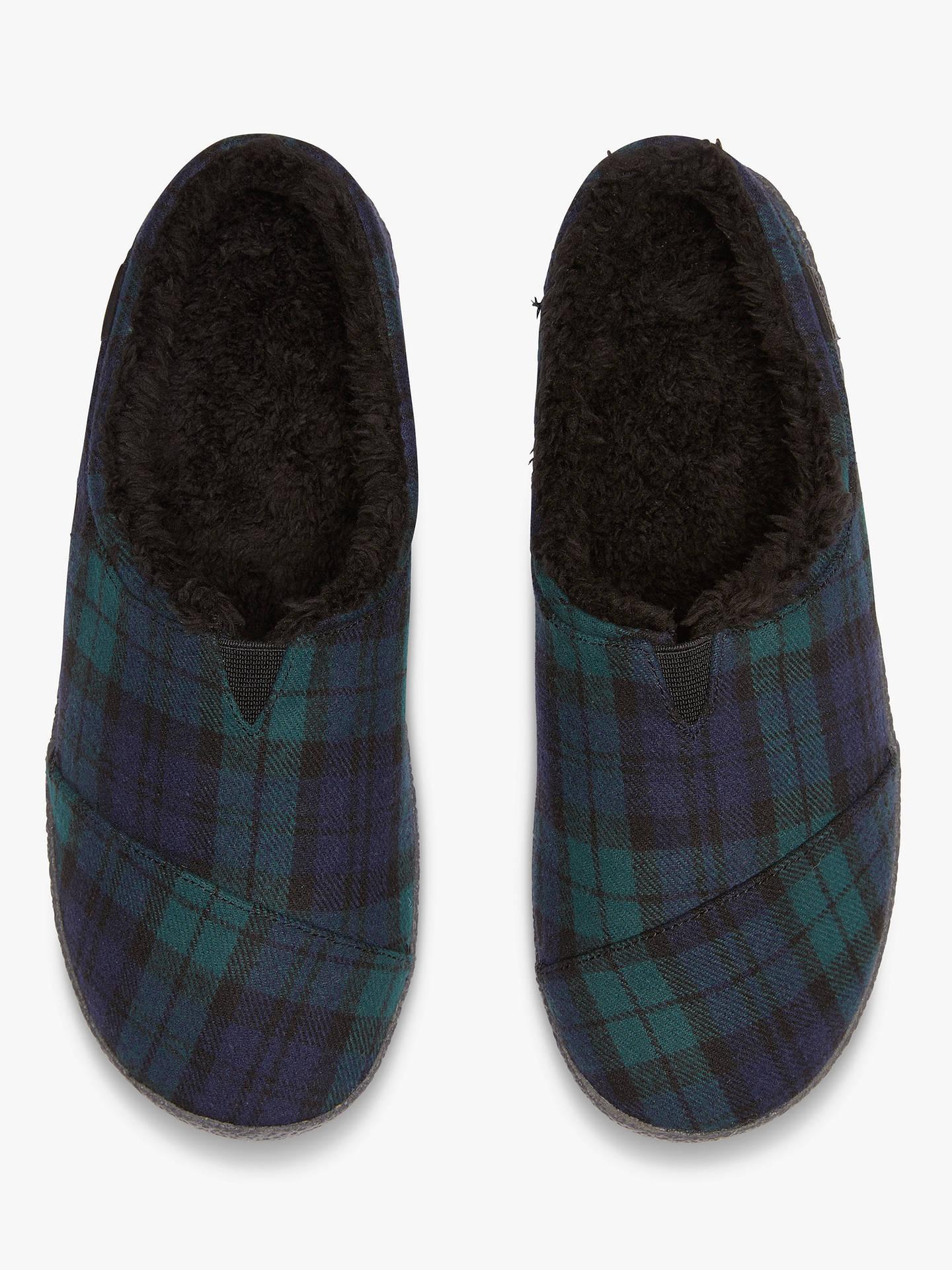b9c7f84e7ad ... Buy TOMS Berkeley Plaid Felt Slippers