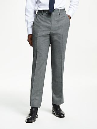 Kin Semi Plain Suit Trousers, Grey