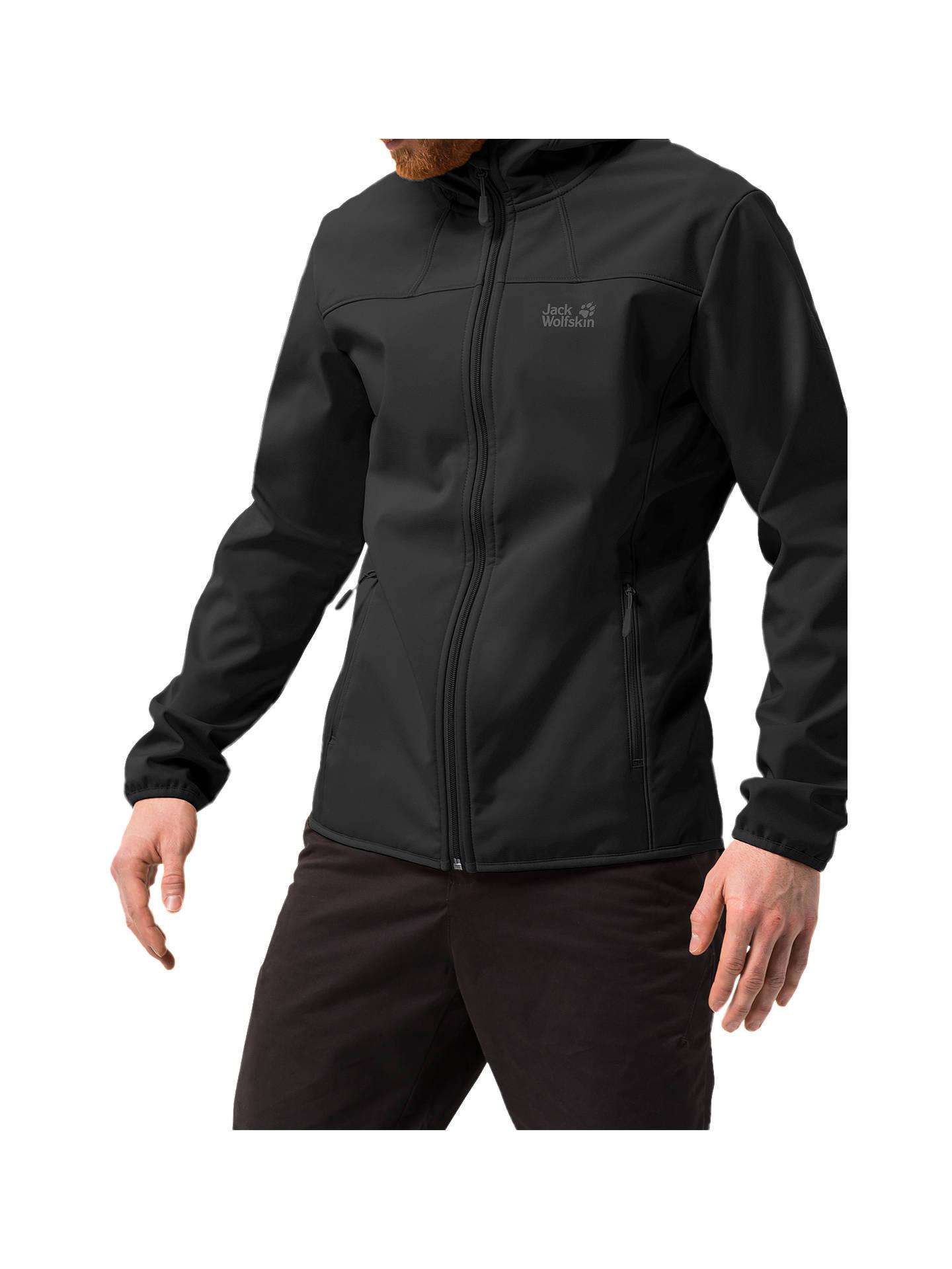 renomowana strona wyprzedaż w sprzedaży wyprzedaż w sklepie wyprzedażowym Jack Wolfskin Northern Point Softshell Jacket, Black at John ...