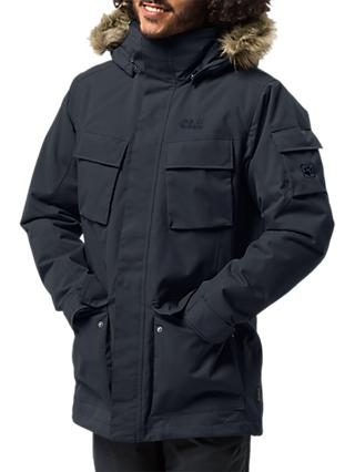 Jack Wolfskin Glacier Canyon Insulated Men's Waterproof Parka