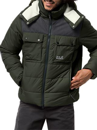 Jack Wolfskin High Range Insulated Men's Jacket, Pinewood