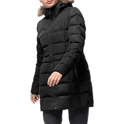Jack Wolfskin Baffin Island Women's Coat, Black