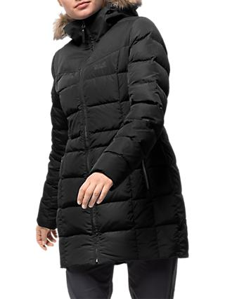 Jack Wolfskin Baffin Island Women's Coat, Black