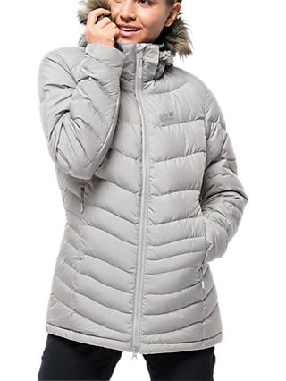 Jack Wolfskin Selenium Down Women's Jacket, Grey