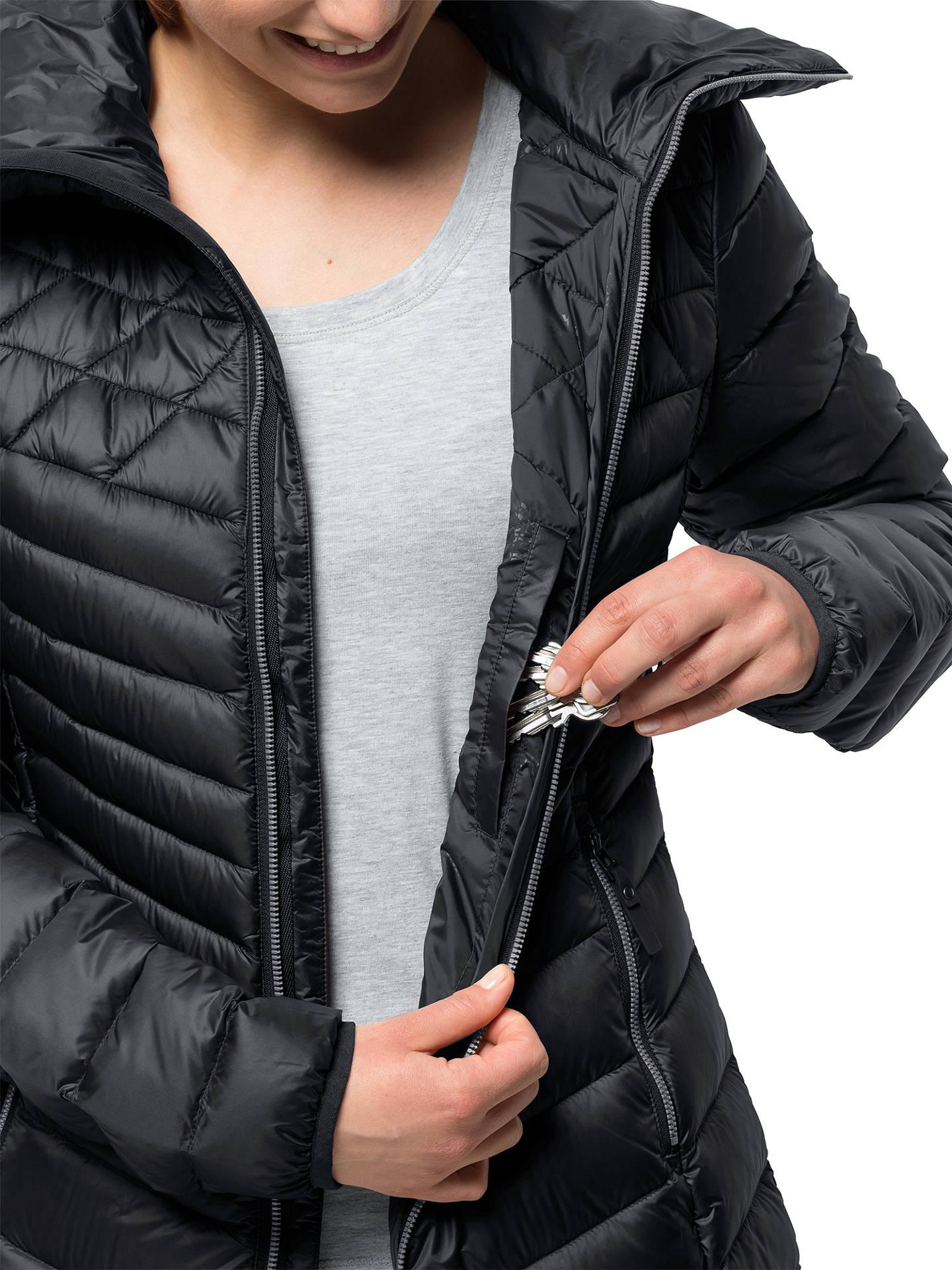 anerkannte Marken verschiedene Stile Großhandelsverkauf Jack Wolfskin Richmond Women's Coat, Black at John Lewis ...