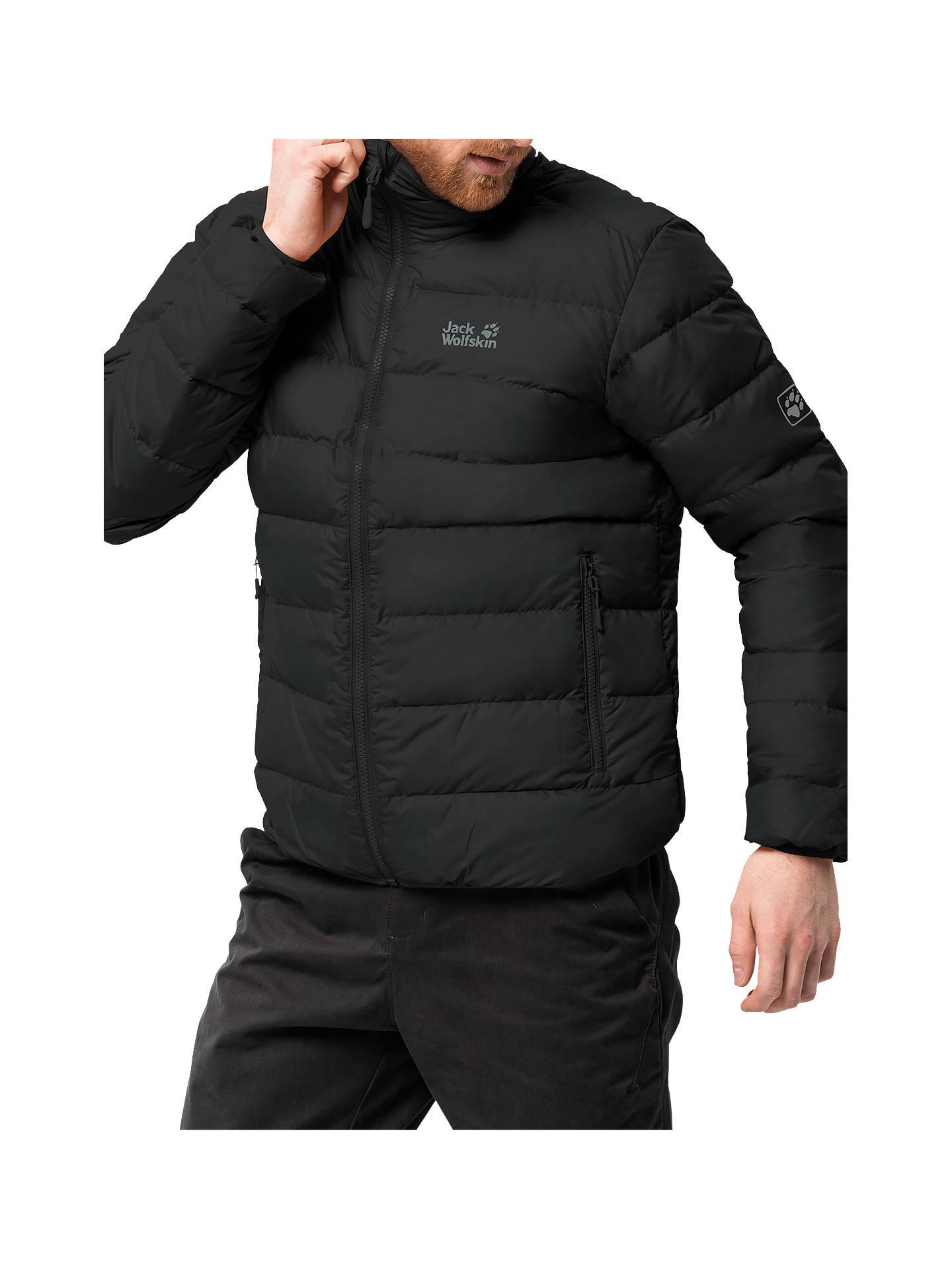 jack wolfskin helium high men 39 s down jacket black at john. Black Bedroom Furniture Sets. Home Design Ideas