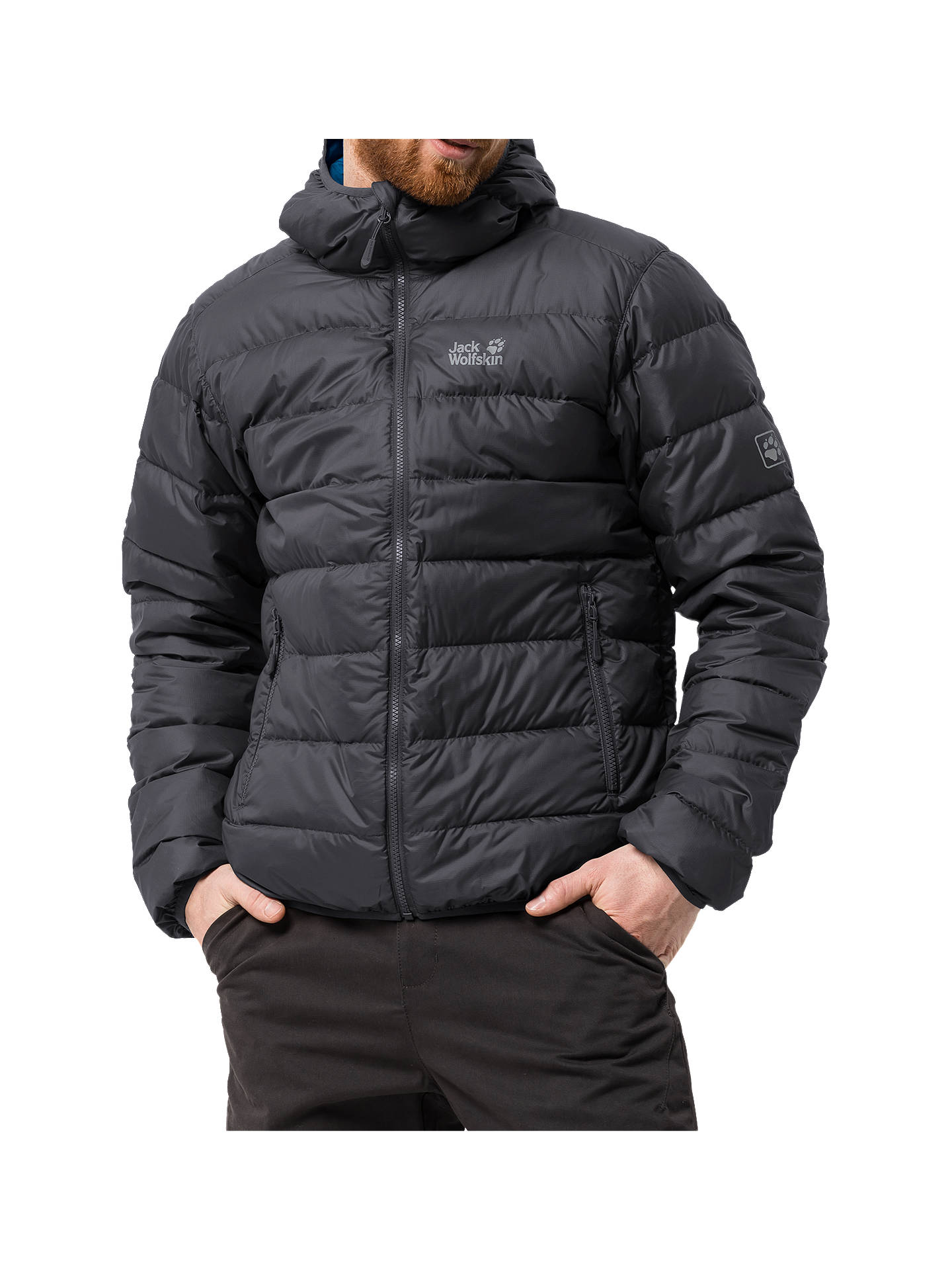Jack Wolfskin Helium Outdoor Jacket for Women Grey