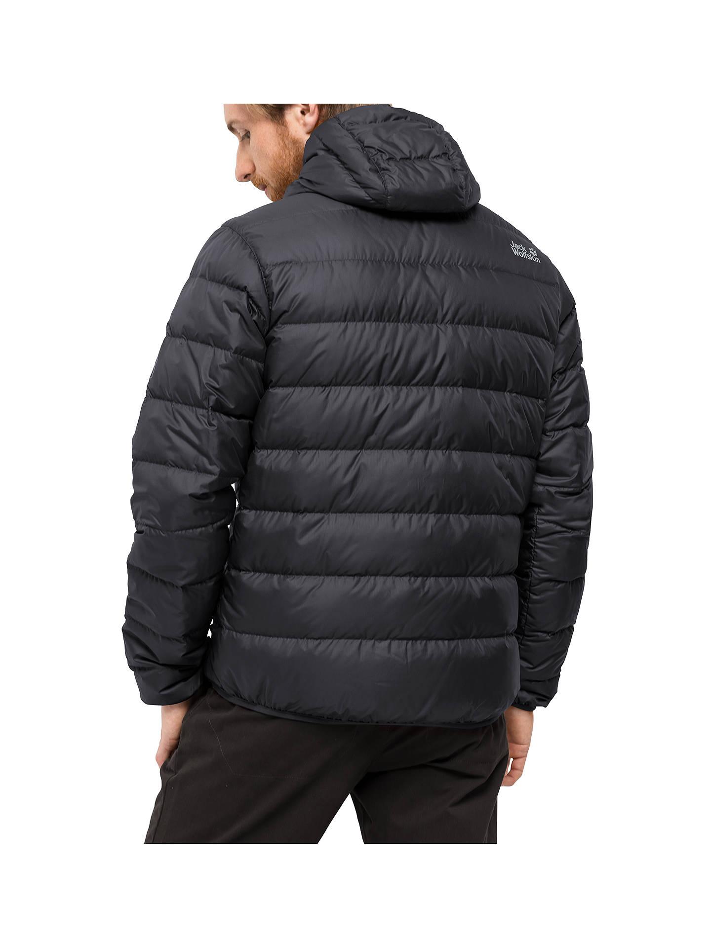 731d43ecee7 ... Buy Jack Wolfskin Helium Men's Jacket, Ebony, XL Online at johnlewis.  ...