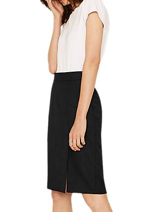 Oasis Tailored A-Line Skirt, Black