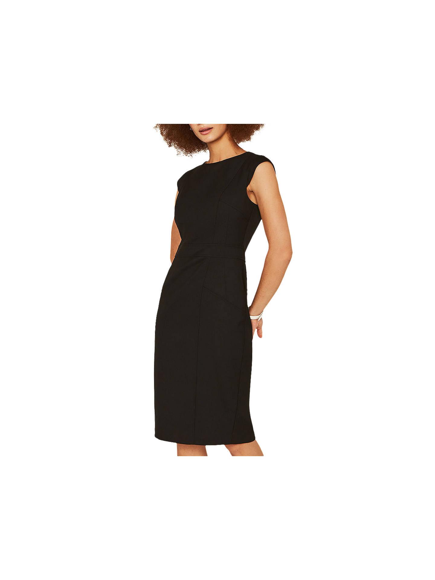 3b445cbb260e Buy Oasis Tailored Midi Dress, Black, 6 Online at johnlewis.com ...