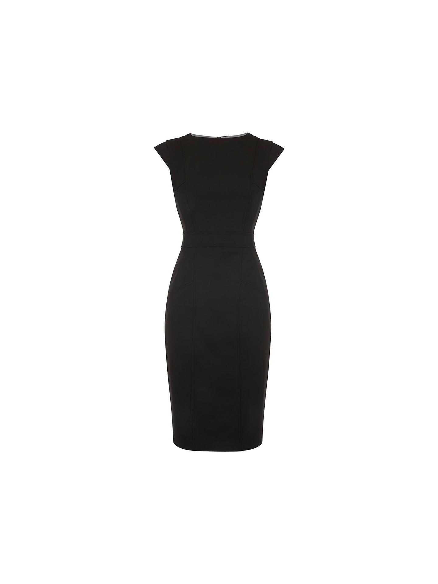 577395063ce7 ... Buy Oasis Tailored Midi Dress, Black, 6 Online at johnlewis.com ...
