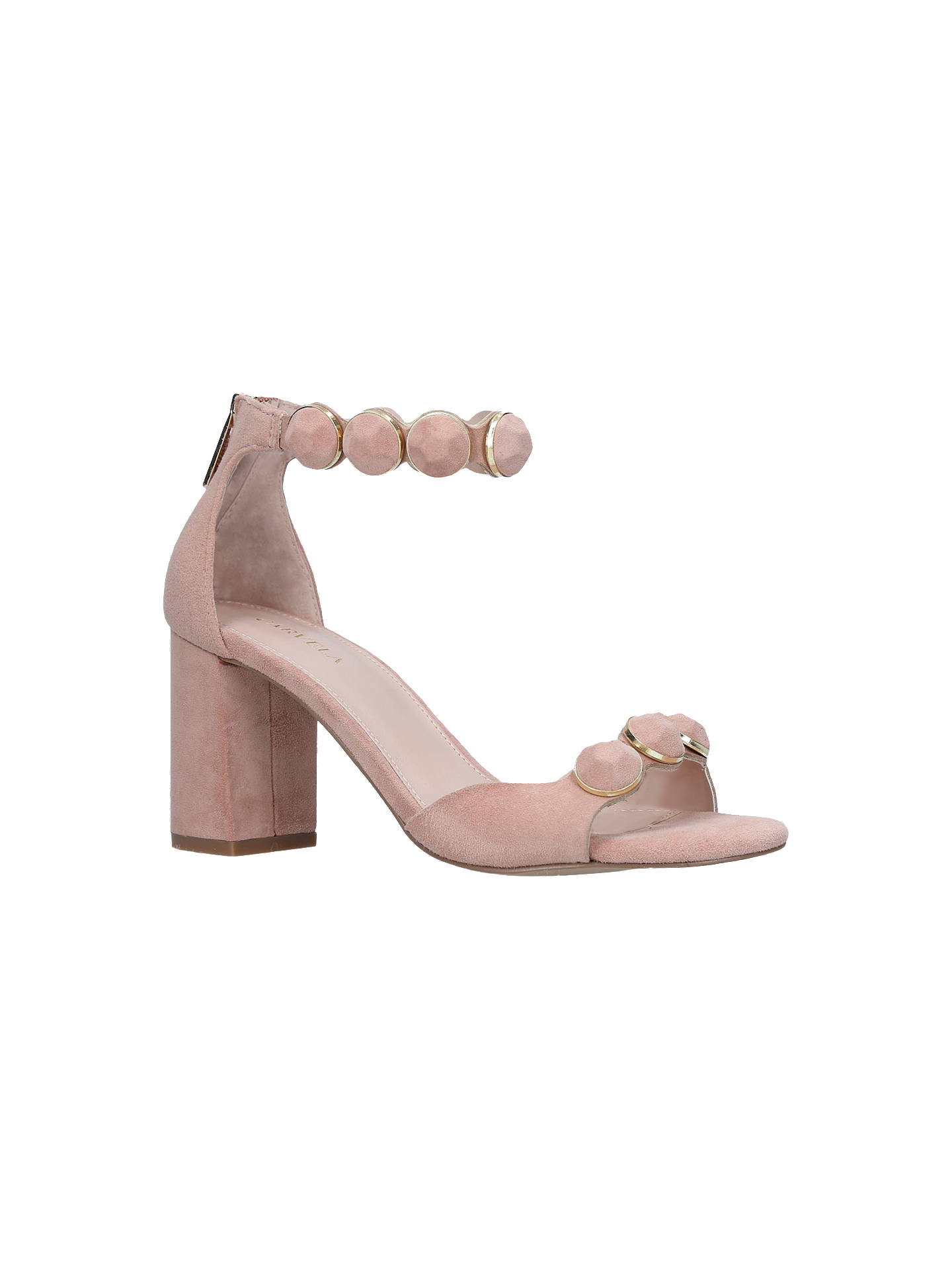 3f09dd3631d Carvela Gillian Block Heel Sandals at John Lewis & Partners