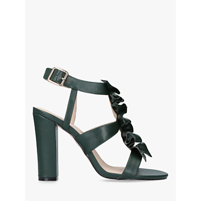 KG Kurt Geiger Fliss High Block Heel Strap Sandals