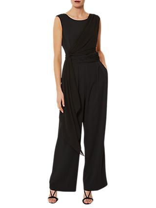 8385979c97f7 Gina Bacconi Chiffon Crepe Jumpsuit