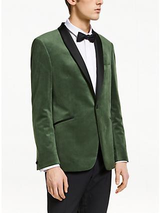 ad092cbaa47f Kin Velvet Slim Fit Dress Suit Jacket, Sage