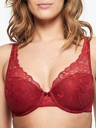 Chantelle Molitor Multiway Spacer Bra, Red