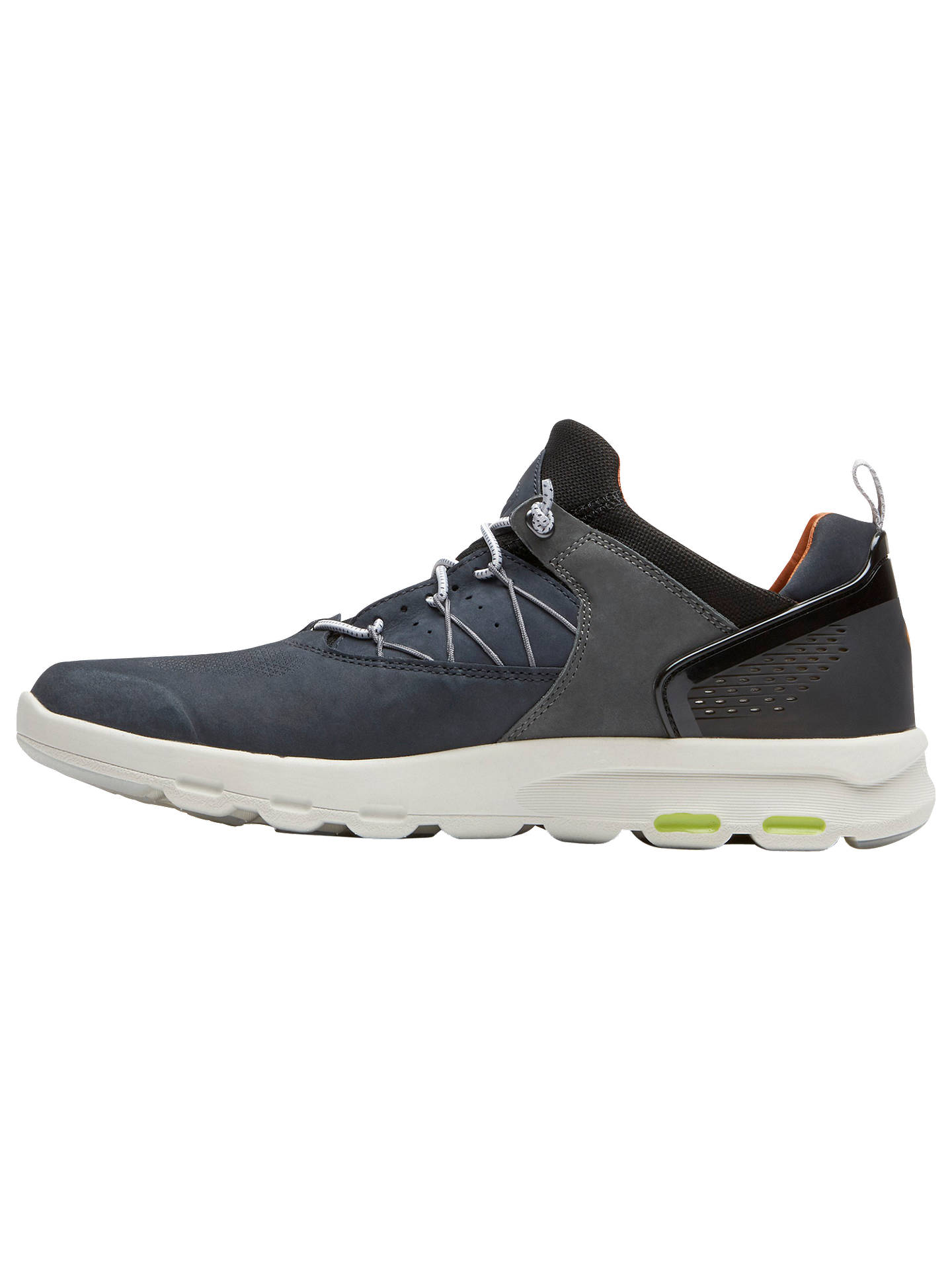 Buy Rockport Lets Walk Bungee Trainers, Blue, 10 Online at johnlewis.com