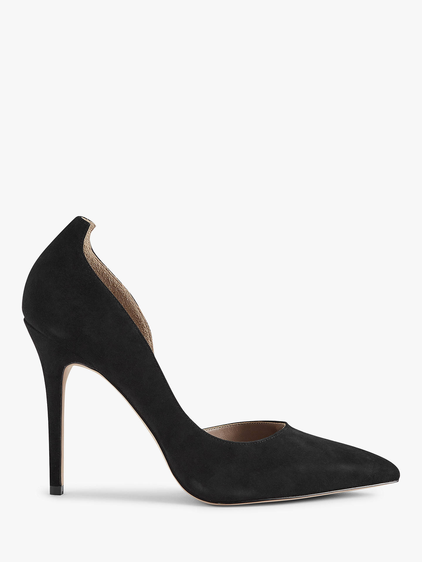 364d24a7213 Reiss Alberta Suede Court Shoes at John Lewis & Partners
