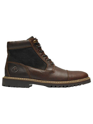 Buy Rockport Marshall Toe Cap Boots, Saddle Brown, 7 Online at johnlewis.com