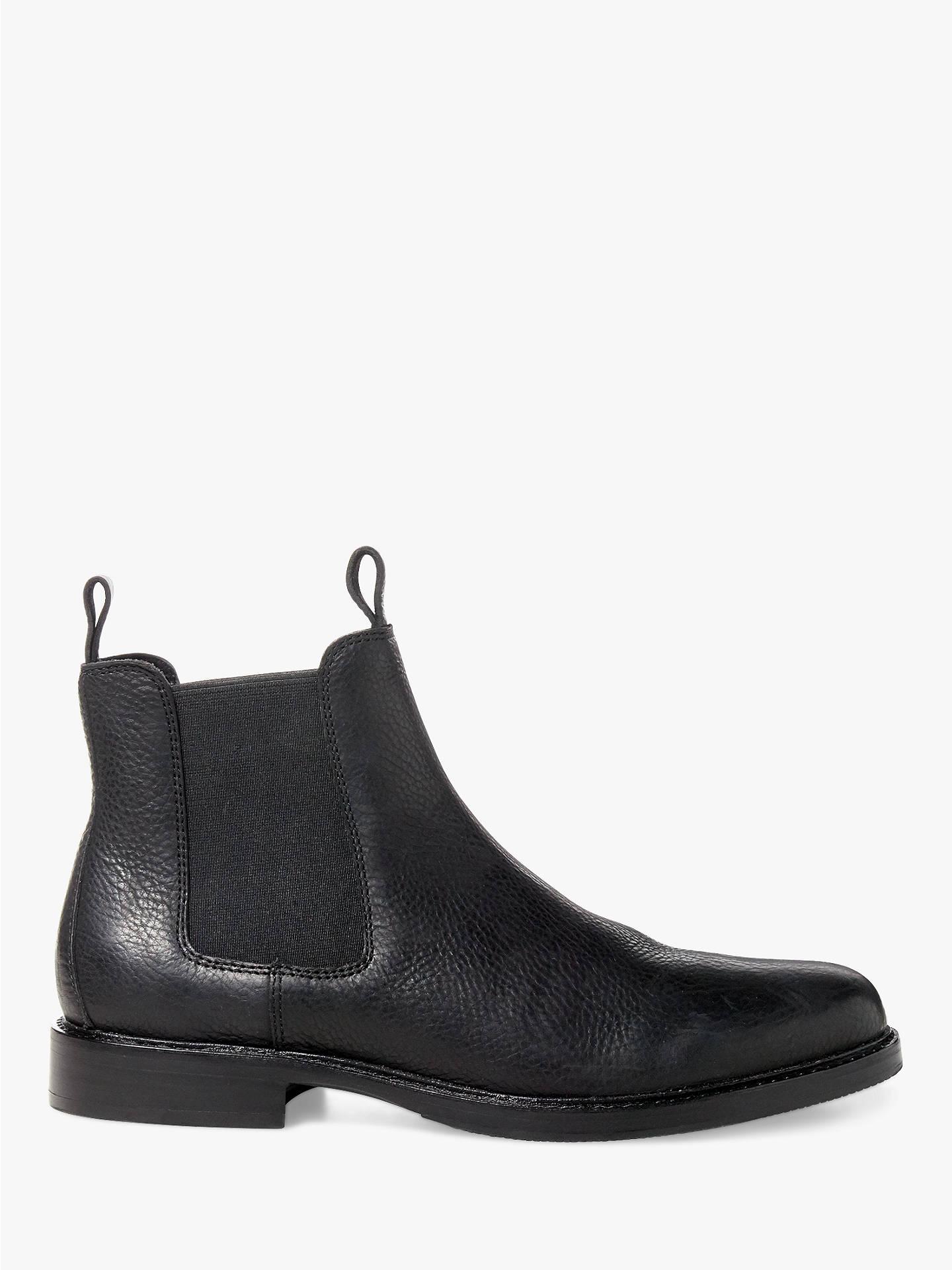def223ce1 Polo Ralph Lauren Normanton Leather Chelsea Boots at John Lewis ...