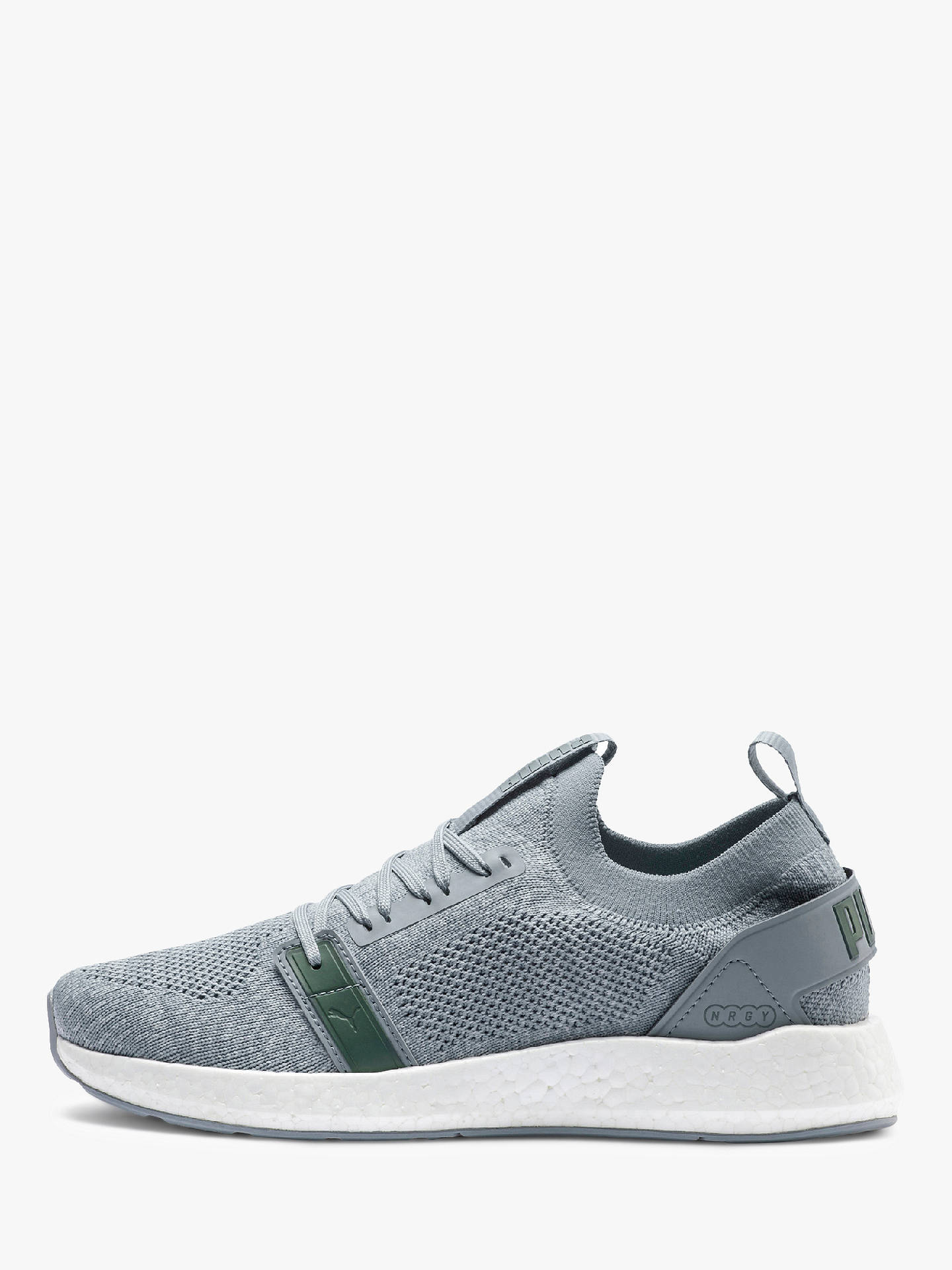 Buy PUMA NRGY Neko Engineer Knit Women's Running Shoes, Quarry/Puma White/Laurel Wreath, 6 Online at johnlewis.com